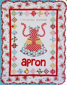 Remember Grandma's Apron... by Lori Holt