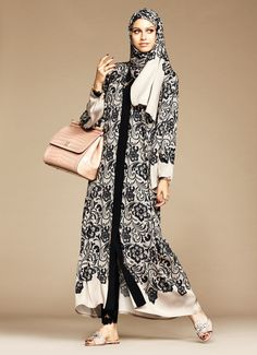 From Dolce & Gabbana's first abaya and hijab collection