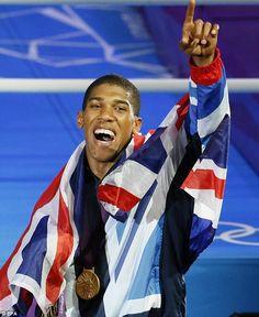 Anthony Joshua: GOLD!