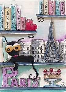My Paris bookshelf...