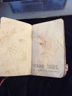 My wreck this journal. Stand here.