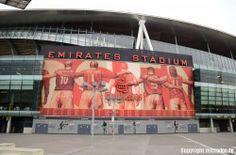 Arsenal London - Emirates Stasium - What a beautiful Stadium