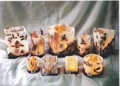 Resultado de imagen para velas y fanales artesanales