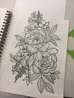 22 super Ideas for tattoo flower sleeve mandalas ink Tigh Tattoo, Mädchen Tattoo, Hand Tattoo, Tattoo Drawings, Tattoo Quotes, Tattoo Thigh, Tattoos Skull, Rose Tattoos, Body Art Tattoos