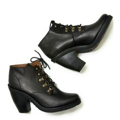 cheap buy authentic Rachel Comey Platform Lace-Up Booties cheap sale with mastercard 0MZqR