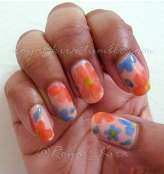 Nail Art Challenge Week 3: Flowers - The Book of Madness