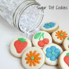 Order custom, personalized, decorated cookies Sugar Dot Cookies with royal icing in Frederick, Middletown, MD.