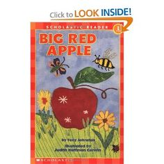 Scholastic Reader Level 1: Big Red Apple: Tony Johnston, Judith Hoffman Corwin, Judith Corwin: 9780439098601: Amazon.com: Books