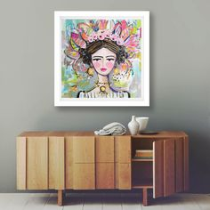 A personal favorite from my Etsy shop https://www.etsy.com/listing/264866559/woman-print-portrait-impressionist