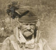 Sami Man from Finnmark Norway early 1900