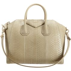 Givenchy Medium Antigona Python Bag at Barneys.com