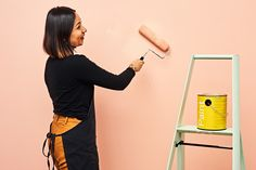 9 Smart Tricks to Make Your Next Paint Job Simple and Painless — Apartment Therapy Star Painting, Painting Tips, House Painting, Gallon Of Paint, Peeling Paint, Wash Brush, Nail Holes, After Life, It Goes On