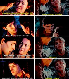 Merlin got the friend he's always wanted