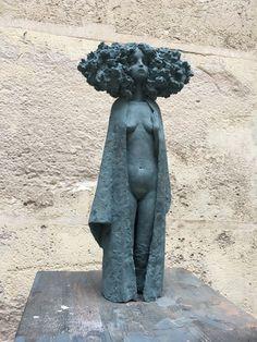 Find this artwork on Artsper: Kimono by Valérie Hadida. Human Sculpture, Art Sculpture, Pottery Sculpture, Pottery Art, Garden Sculptures, Sculpture Ideas, Metal Sculptures, Ceramic Sculptures, Bronze Sculpture