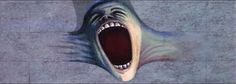 """Gerald Scarfe animation in Alan Parker's film """"The Wall"""" - From """"Waiting for the worm"""" sequence"""
