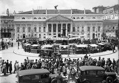 Rossio, Feira do Livro, 1931