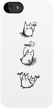 awwwwww Mini White Totoros by Earth-Gnome