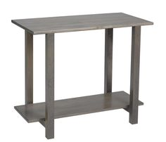 Amish Hilton Sofa Table with Wood Top