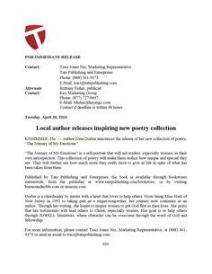 Josie dorlus press release