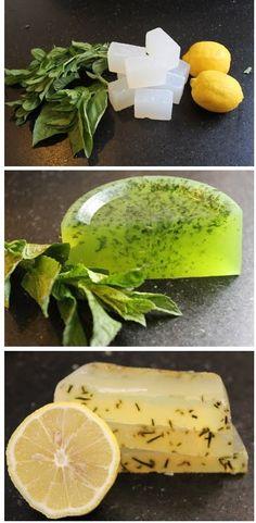 Home Made Herbal Soap Tutorial - #diy