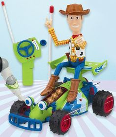 NEW Toy Story Remote-Controlled Buggy with Woody New Toy Story, New Toys, Woody, Remote, Big, Christmas, Xmas, Navidad, Noel