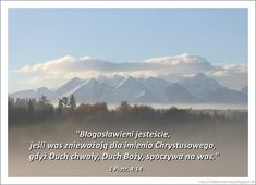 Ziarenka - wersety biblijne: 1 Piotr. 4:14 Nature, Bible, Naturaleza, Nature Illustration, Off Grid, Natural