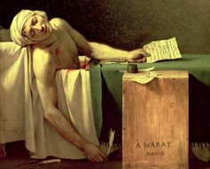 Jaques-Louis David- Death Of Marat