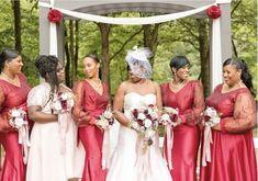 Wine and mauve cascading brides bouquet Burgundy Wedding Flowers, Cheap Wedding Flowers, Budget Bride, Bridesmaid Dresses, Wedding Dresses, Bride Bouquets, Flower Ideas, Davids Bridal, Mauve
