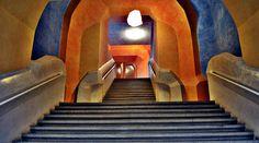 Dornach, Goetheanum Innen, Treppen (V)