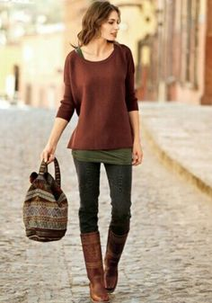 I'm dying to try the tan boots with black. I so have hot to find some tan boots!!