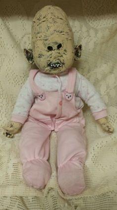Zombie Monster Baby, Ebay