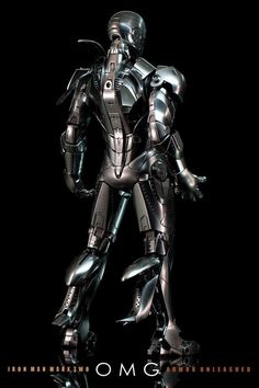 Hot Toys Iron Man Mark II armour, cool!