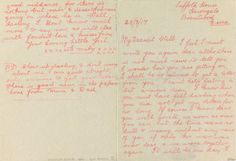 Love Letters of WWI