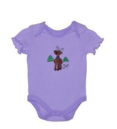 https://www.etsy.com/treasury/Njk4OTA1NnwyNzI1NDE5NDQ4/gifts-of-teal-turquoise-and-purple-too Christmas Holiday Embroidered Reindeer Baby by MountainMajik, $23.00