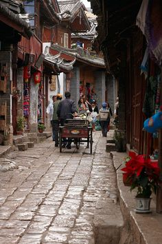 Ciudad Antigua de Lijiang. Ancient City of Lijiang. © Inaki Caperochipi Photography
