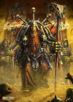Ork Monk Hero by ARTOFJUSTAMAN