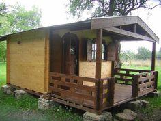 Casute din lemn & Casute de gradina Cabana, Shed, Outdoor Structures, Interior, Beautiful, Log Homes, Indoor, Cabanas, Interiors