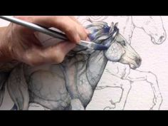 How to Paint a Horse by Jody Bergsma - YouTube
