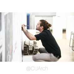 #imadethat @cuarch  @mikeegnor makes final preparations before his #cuarch thesis defense part of which was enriched with his time studying in Japan.  @CUArch offers a wide variety of thesis independent and travel research opportunities learn more about our programs in our link above.  photo: @caroline.winn.  #igdc #mydccool #madeindc #dcity #soarch #archigram #architecture #architecturestudent #building #buildings #cities #composition #design #sketching #architectureporn #archidaily…