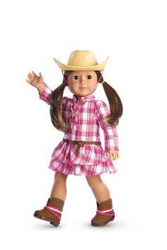 Western Plaid Outfit & Hat
