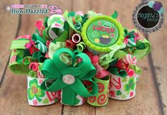 Lucky Funky Loopy Bow https://www.facebook.com/MegansBowtique/