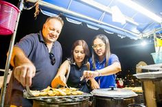 Half-Day Street Food Tour in Phuket Treat yourself to Phuket's street food on a 3.5-hour whirlwind tour of southern Thailand's culinary fare. Visit the town market and stop by foodie haunts known only to the locals on this guided tour. See the views at night from Khao Rang and stroll with your guide along Talang Road.Start your evening with hotel pickup in Patong, Kata Beach and Karon Beach hotels on Phuket. You'll travel with a small group by air-conditioned minivan to the to...