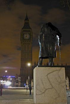Winston Churchill - London - England