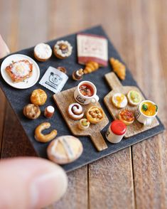 miniature pastries by ochibits