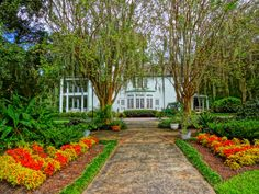 Autumn at the Leu House Museum - Harry P. Leu Gardens Orlando - National Register of Historic Places!