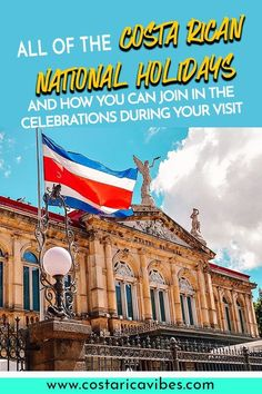 Costa Rican national holidays are probably not what you are used to find. Find out how to celebrate like a local, when to avoid certain areas, and more! Group Travel, Family Travel, Canada Travel, Travel Usa, Cool Places To Visit, Places To Travel, Costa Rica Holiday, Costa Rica With Kids, Guanacaste Province