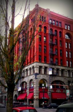 Downtown Portland, love this building