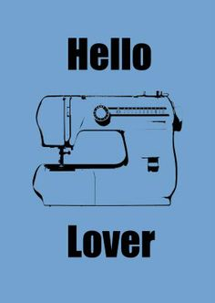 Free printable for my sewing closet