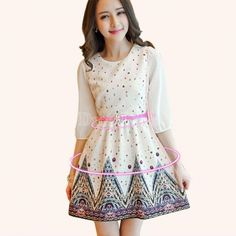 Buy korean slim sleeve printed dress a-line dress princess dress women from dresslink,enjoy discount shopping and fast delivery now. Sexy Summer Dresses, Sexy Party Dress, Cute Dresses, Evening Dresses, Prom Dresses, Cheap Clothes Online, Dress Link, Women's Fashion Dresses, New Dress