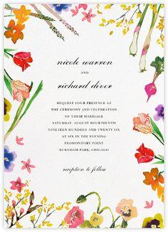 Spring Market (Invitation) - Paperless Post